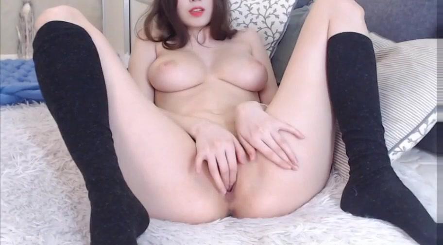 Small Tit Dildo Masturbation