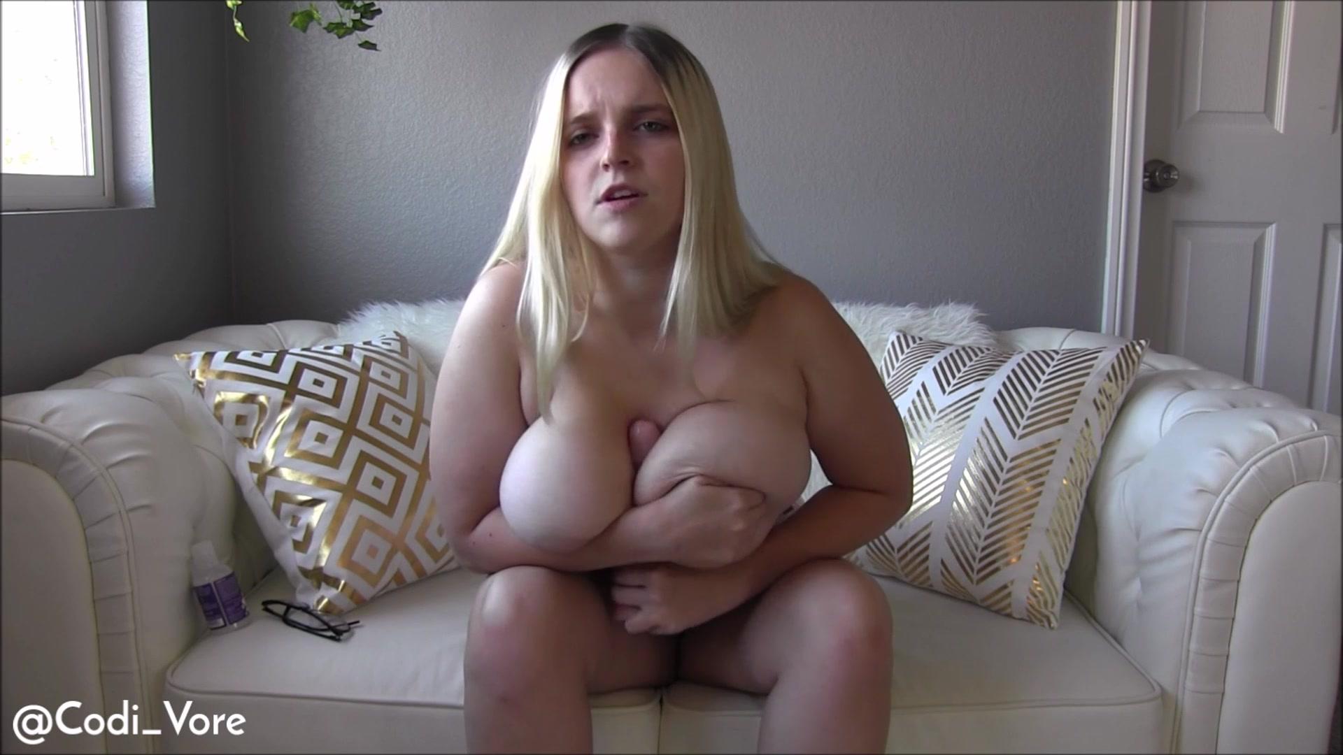 Huge tits codi joi, porn star naked boob cameltoe