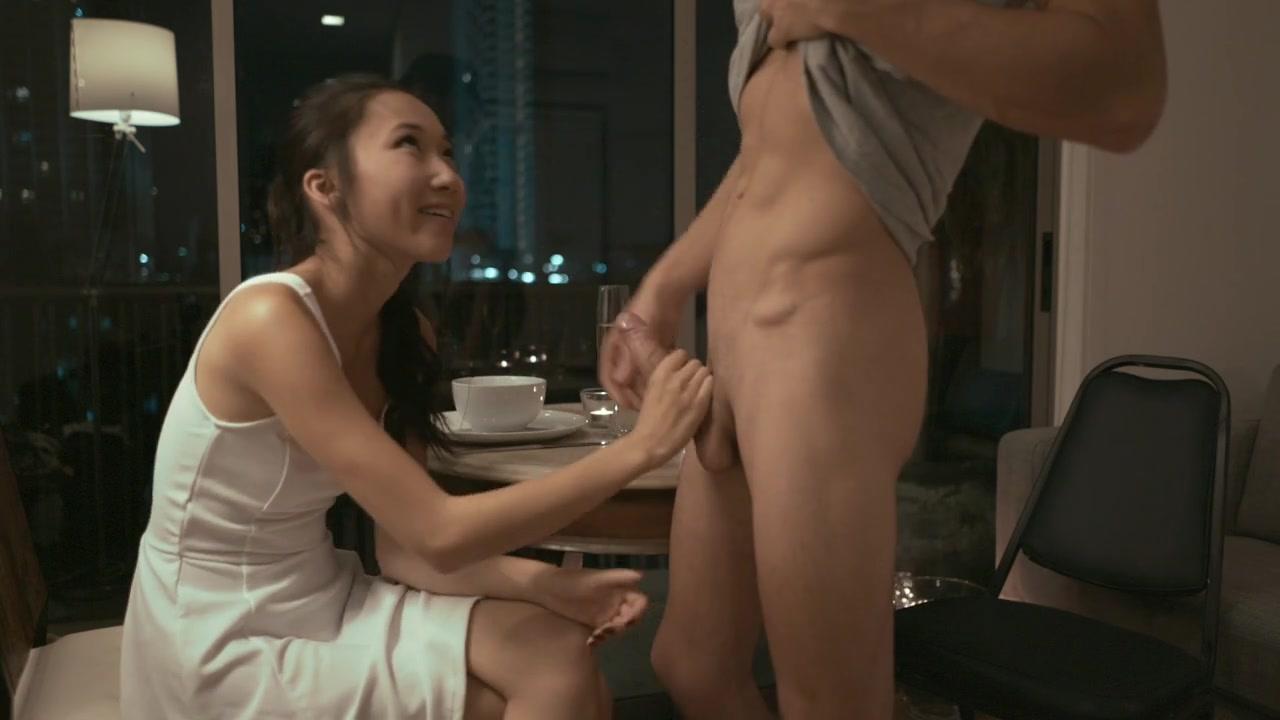 couple nude nippled licking