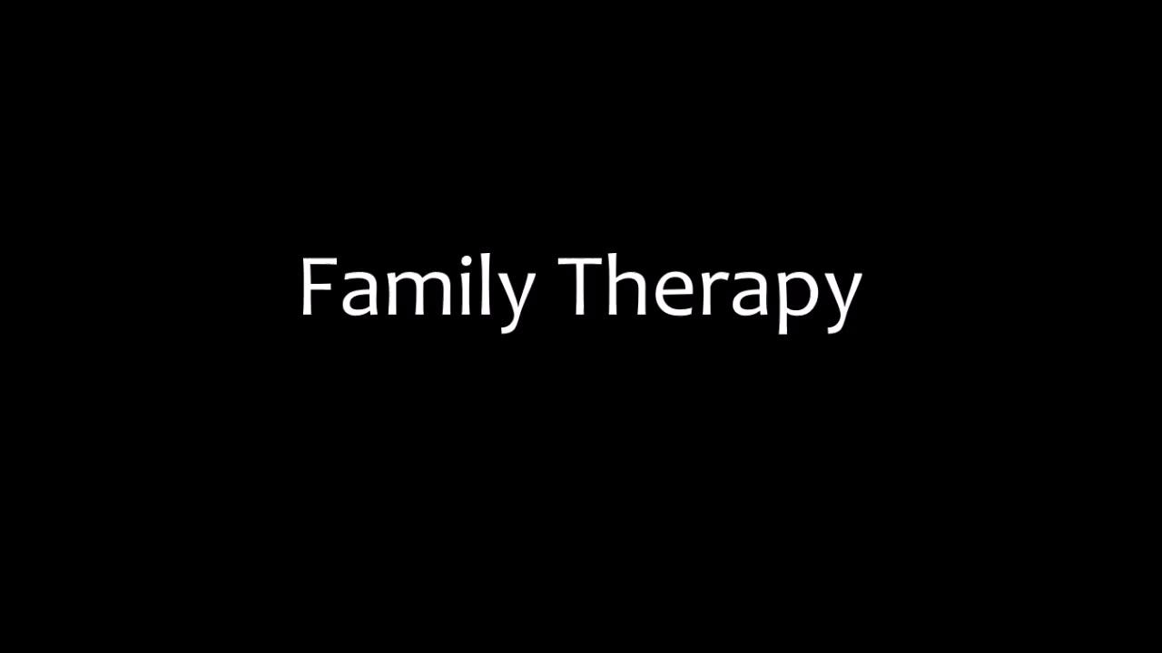 Family Therapy Lost Weekend
