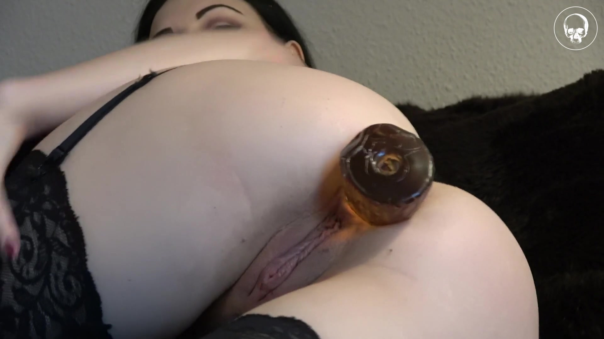 Dildo gets lost in ass something